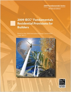 cover image - 2009 IECC Fundamentals Residential Provisions for Builders