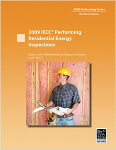 cover image - 2009 IECC Performing Residential Energy Inspections