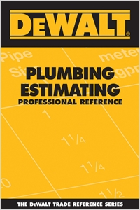 cover image - DEWALT® Plumbing Estimating Professional Reference