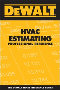 cover image - DEWALT® HVAC Estimating Professional Reference