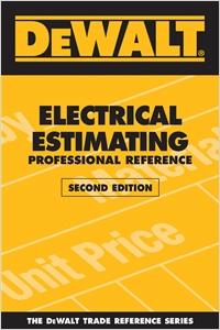 cover image - DEWALT® Electrical Estimating Professional Reference