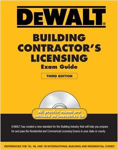 cover image - DEWALT® Building Contractor's Licensing Exam Guide