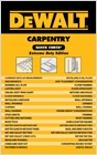 cover image - DEWALT® Carpentry Quick Check: Extreme Duty Edition