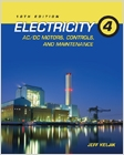 cover image - Electricity 4, AC/DC Motors, Controls, and Maintenance