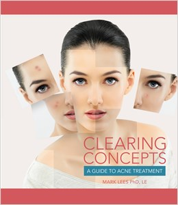 cover image - Clearing Concepts, A Guide to Acne Treatment