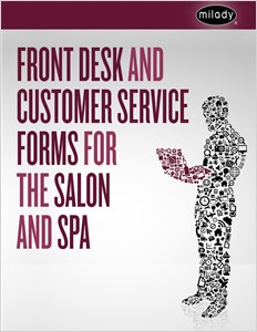 cover image - Front Desk and Customer Service Forms for the Salon and Spa