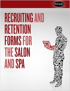 cover image - Recruiting and Retention Forms for the Salon and Spa