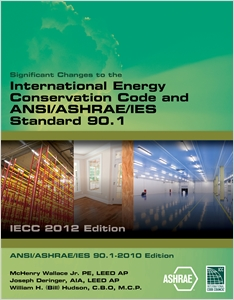 cover image - Significant Changes to the IECC 2012 and ASHRAE 90.1 2010