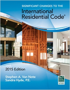 cover image - Significant Changes to the International Residential Code, 2015 Edition