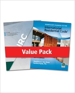 cover image - 2015 International Residential Code® for One- and Two- Family Dwellings and Significant Changes to the 2015 International Residential Code®