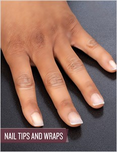 cover image - Nail Tips and Wraps: Application, Maintenance and Removal (Video & Step-by-Step PDF)