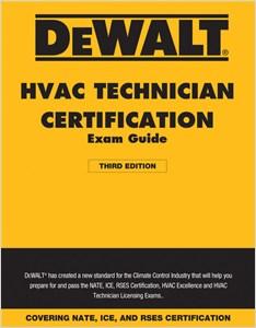 cover image - DEWALT® HVAC Technician Certification Exam Guide – 2018