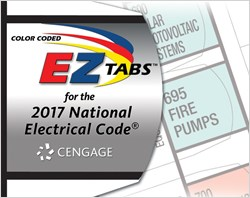 cover image - Color Coded EZ Tabs for the 2017 National Electrical Code®