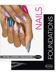 cover image - Online Licensing Preparation for Milady's Standard Nail Technology, 2 terms Instant Access