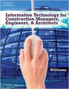 cover image - Information Technologies for Construction Managers, Architects and Engineers