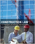 cover image - Construction Law for Managers, Architects, and Engineers