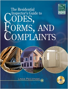 cover image - Residential Inspector's Guide to Codes, Forms, & Complaints
