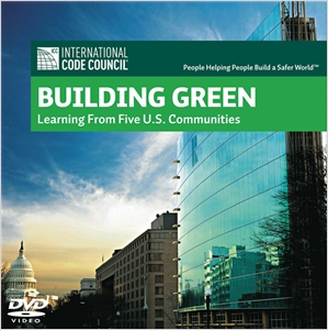 cover image - Building Green DVD