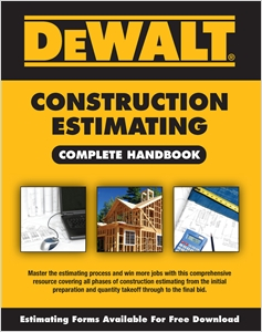 cover image - DEWALT® Construction Estimating Complete Handbook
