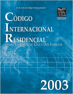 cover image - 2003 International Residential Code - Spanish Edition