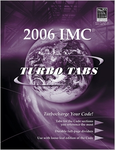 cover image - Turbo Tabs for ICC's 2006 International Mechanical Code