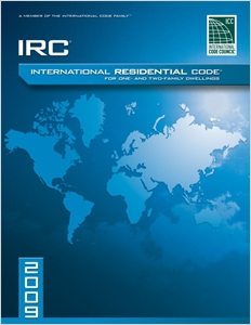 cover image - 2009 International Residential Code For One-and-Two Family Dwellings, Looseleaf Version