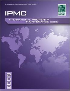 cover image - 2009 International Property Maintenance Code