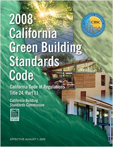 cover image - 2008 California Green Building Standards Code, Title 24 Part 11