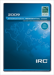 cover image - 2009 International Residential Code (PDF CD)  - Single Seat