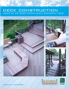 cover image - Deck Construction Based on the 2009 International Residential Code