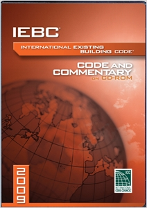 cover image - 2009 International Existing Building Code Commentary CD