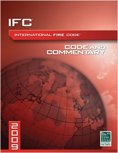 cover image - 2009 International Fire Code Commentary