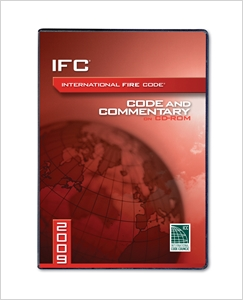 cover image - 2009 International Fire Code Commentary CD