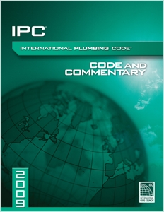 cover image - 2009 International Plumbing Code Commentary