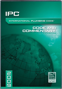 cover image - 2009 International Plumbing Code Commentary CD