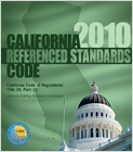 cover image - 2010 California Referenced Standards Code, Title 24 Part 12