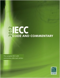 cover image - 2012 International Energy Conservation Code Commentary