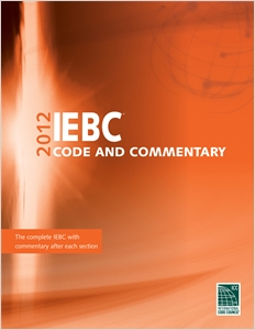 cover image - 2012 International Existing Building Code Commentary