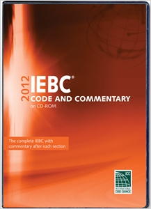 cover image - 2012 International Existing Building Code Commentary CD-ROM