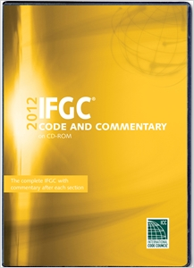 cover image - 2012 International Fuel Gas Code Commentary CD-ROM