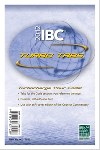 cover image - 2012 International Building Code Turbo Tabs for Loose Leaf Edition