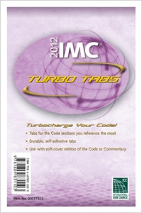 cover image - 2012 International Mechanical Code Turbo Tabs for Paper Bound Edition