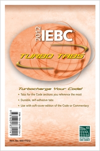 cover image - 2012 International Existing Building Code Turbo Tabs for Paper Bound Edition
