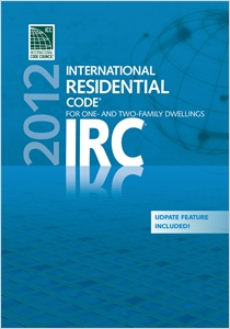 cover image - 2012 International Residential Code (PDF CD) - Single Seat