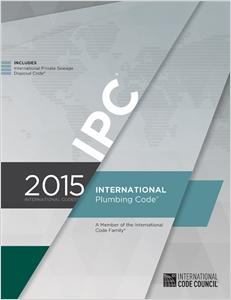 cover image - 2015 International Plumbing Code® (Includes IPSDC)