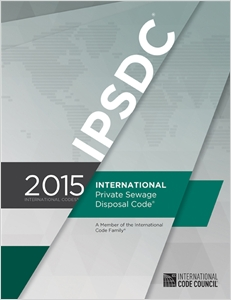 cover image - 2015 International Private Sewage Disposal Code ®