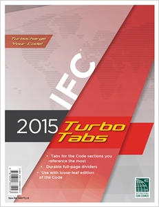 cover image - 2015 International Fire Code® Turbo Tabs for Loose Leaf Edition