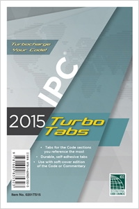 cover image - 2015 International Plumbing Code® Turbo Tabs for Paperbound Edition
