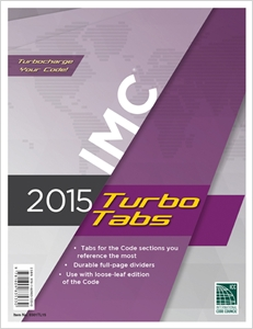 cover image - 2015 International Mechanical Code® Turbo Tabs for Loose Leaf