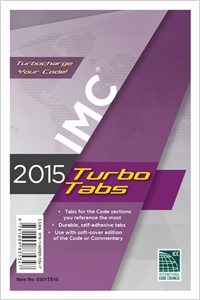 cover image - 2015 International Mechanical Code® Turbo Tabs for Soft Cover